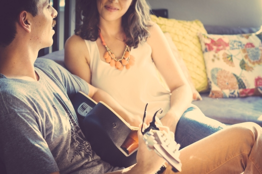 Amanda and James